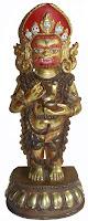 Standing Two Arms Mahakala