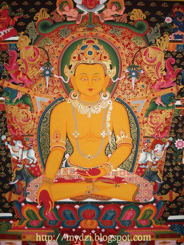 Dhyani Buddha Ratnasambhava