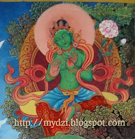 Buddhist GREEN TARA