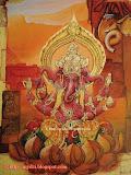 28. Trimukha Ganapati