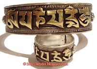 Buddhist Rings and Bangle