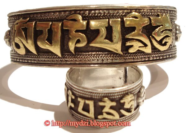 Buddhist Rings and Bangle