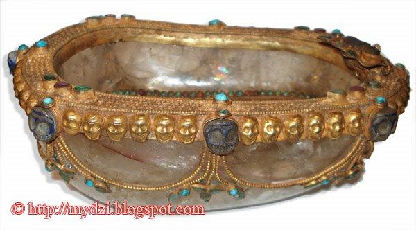 Buddhist Crystal Kapala