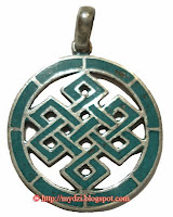 Buddhist endless knot Pendent