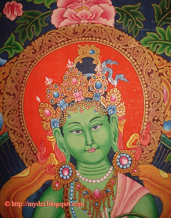 GREEN TARA THANKA