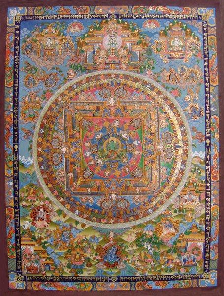 Buddhist Green Tara Mandala