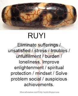 Ruyi Dzi Meaning Card