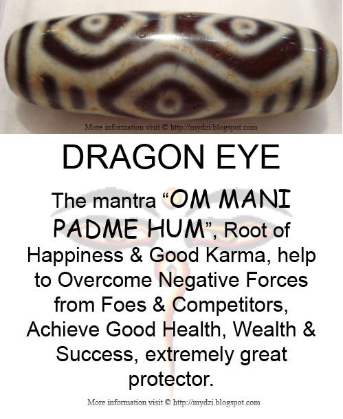 Dragon Eye Dzi Meaning Card