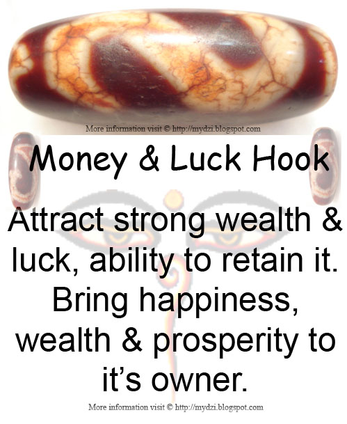 Money and Luck Hook Meaning Card