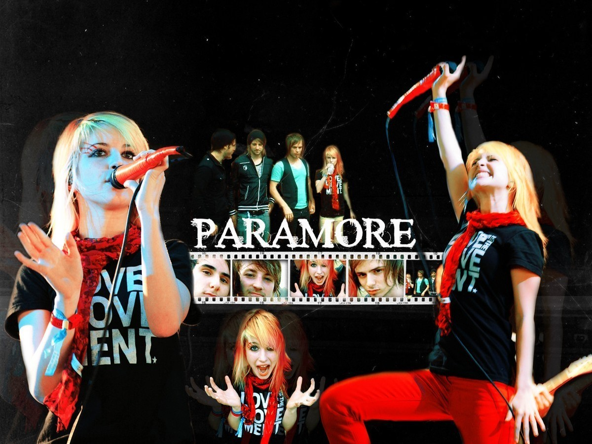 Hayley Willams of Paramore supporting the love movement