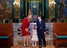 Chloe Meets PA Senator Orie
