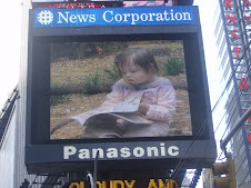 Chloe makes the Big Screen in Times Square!