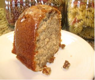The Baking Redhead: Southern Praline Pecan Cake