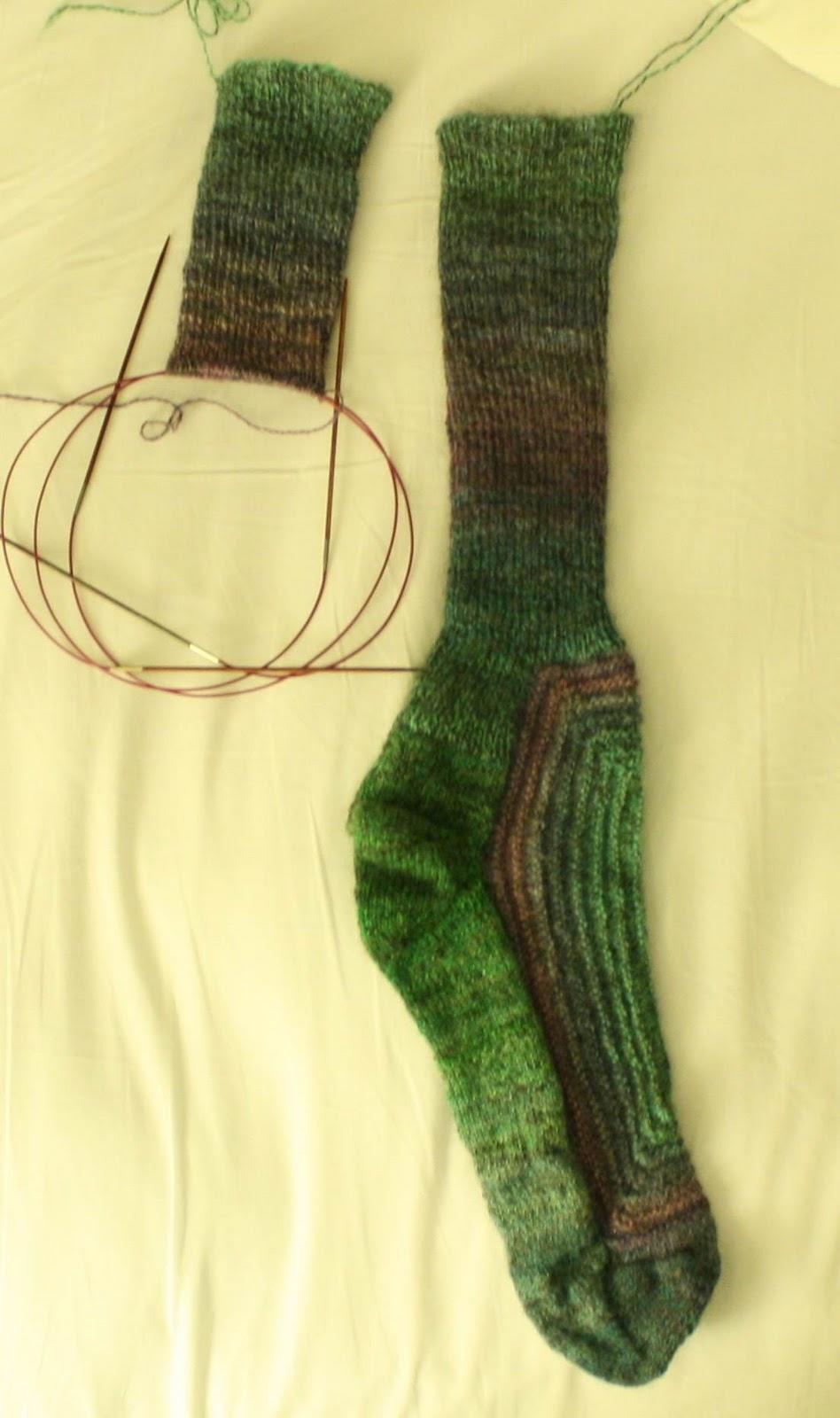 Sock Knitting Blogs : QueerJoes Knitting Blog