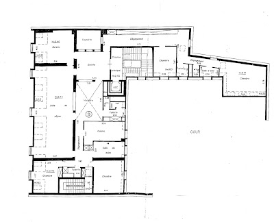 Loft connexion by samuel johde loft paris 9e nouvelle for Plan suite parentale 40m2