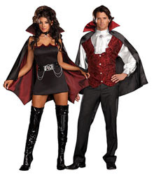 Vampire costumes are both scary and sexy! Male vampires offer a thrill for ...