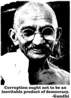 Gandhi dice...