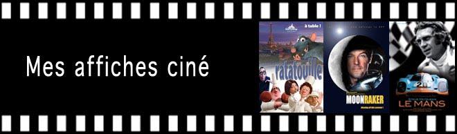 Mes affiches ciné