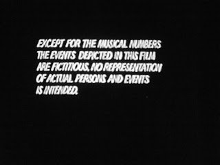 Disclaimer for Cocksucker Blues by Robert Frank