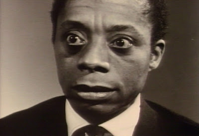 picture of James Baldwin from documentary film