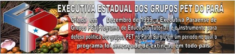 EXECUTIVA ESTADUAL DOS GRUPOS PET DO PARÁ