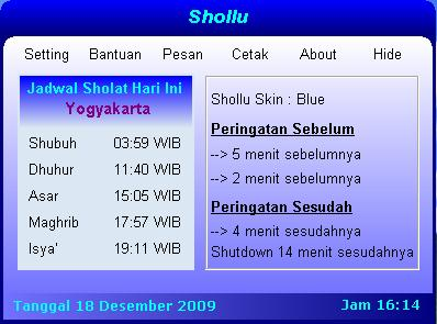 free download software pengingat sholat