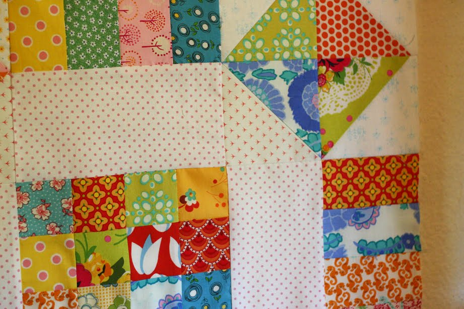 Simple block quilts with big quilt blocks
