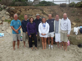 Pennys San Miguel, Santa Barbara Channel swim crew - thanks guys