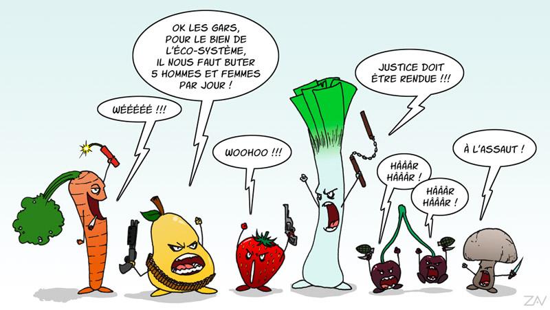 Les Fruites et Légumes