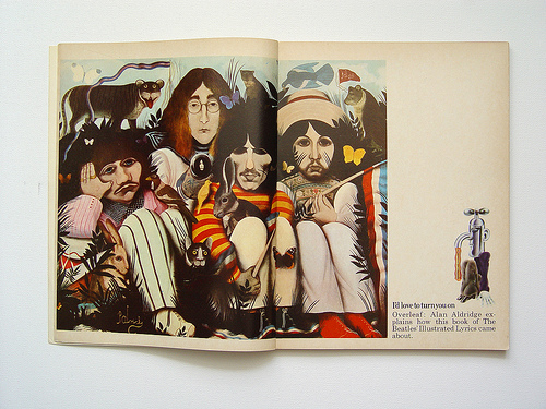 beatles lyrics quotes. The book also has quotes,