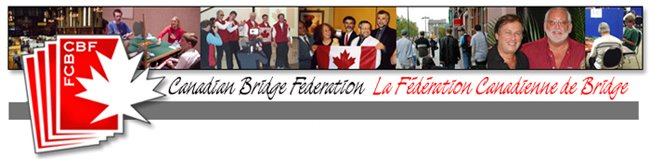 Canadian Bridge Federation Blog