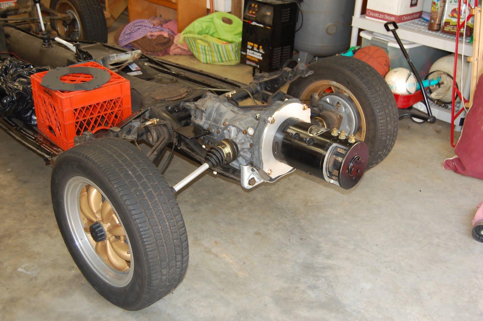 Traction Motor Mounted 1965 Volkswagen Beetle Restoration