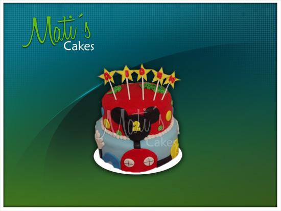 Mati´s Cakes: Torta de la casa de Mickey