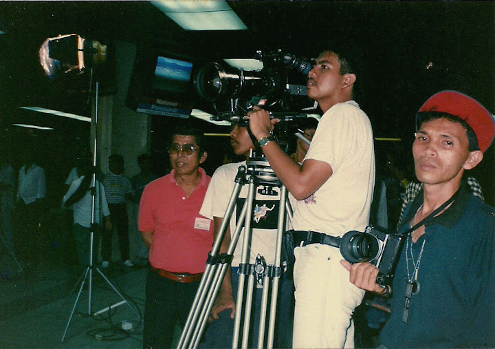 1st shoot as DOP on Films @ 1991' (BL II -35mm)