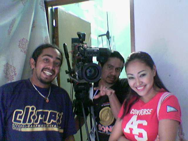 Telemovie shoot