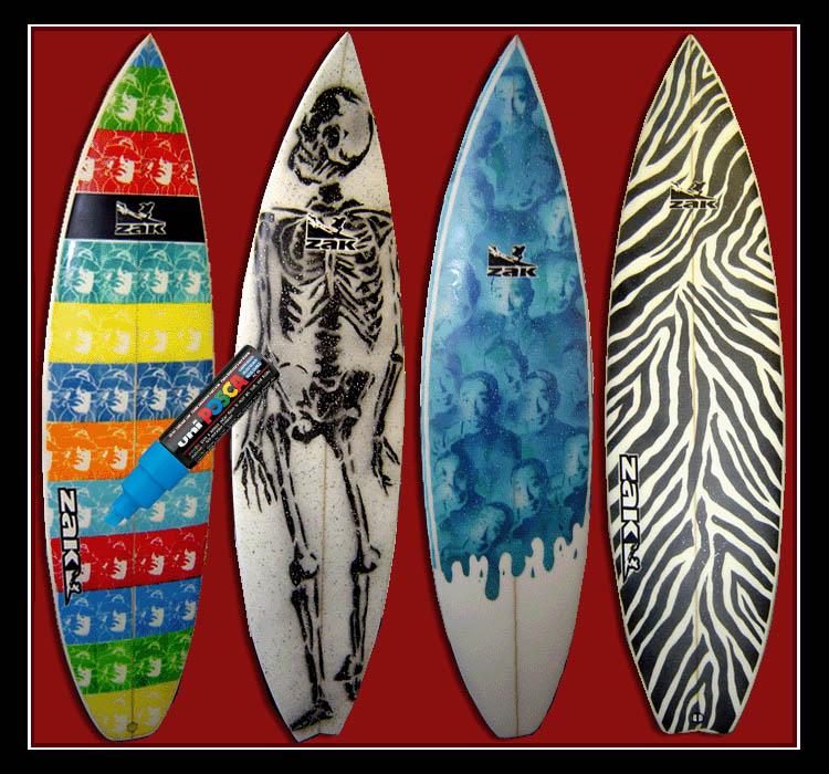 Sordos surf waves pintar tablas de surf como arte - Fotos de tabla de surf ...