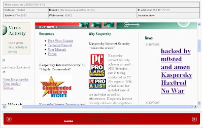 hacked by m0sted And Amen Kaspersky Shop Hax0red No War Turkish Hacker Thanx to Terrorist Crew all team members