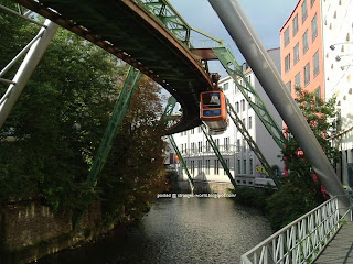 Hanging Trains - Germany @ strange world