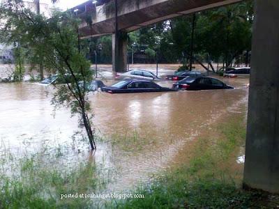gambar banjir KL @isuhangat