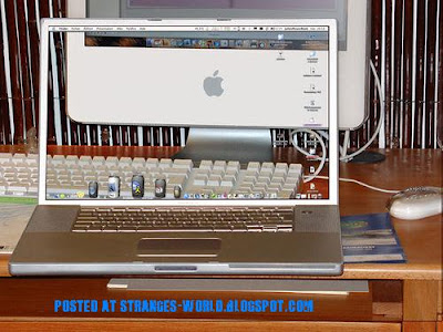 computer transparent screen @ strange world