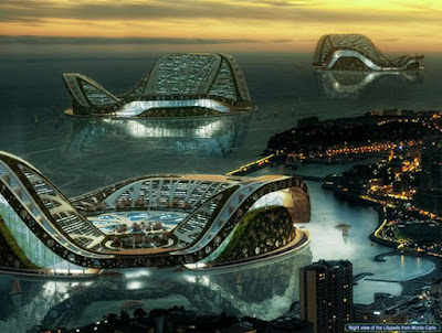 DUBAI Lilypad Floating City @ strange world