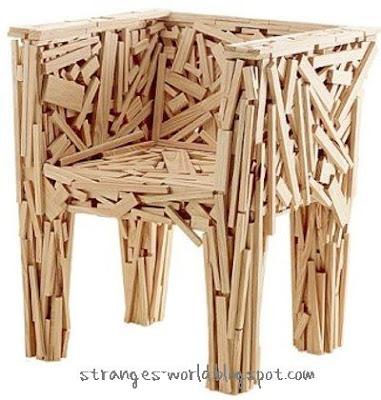 Unusual chairs @ strange world