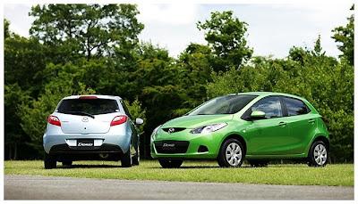 Mazda 2 (Demio) 2009 @ auto show