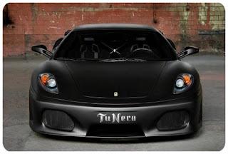 Ferrari F430 Tu Nero @ auto show