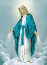 """""""Maria a mãe do meu Salvador."""