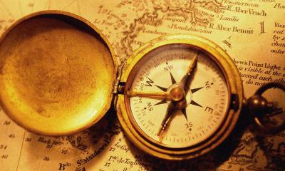 Gammelt kompas