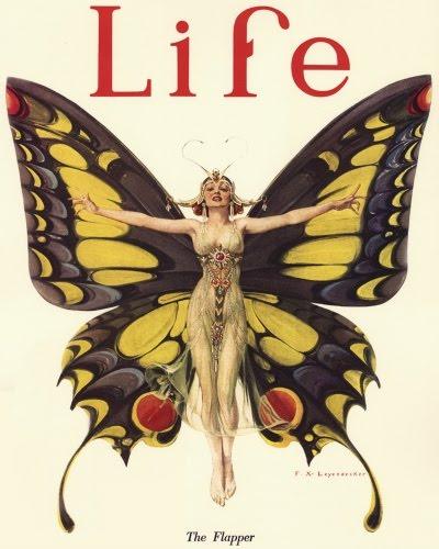 The Flapper, Life Magazine, februar 1922
