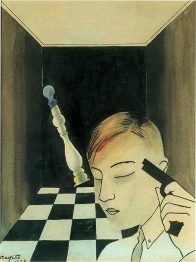 René Magritte - Échec et mat - Checkmate