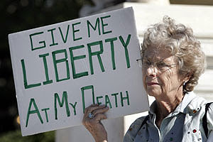Give Me LIBERTY At My Death