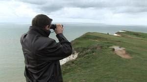 Keith Lane holder udkik efter selvmordskandidater på Beachy Head
